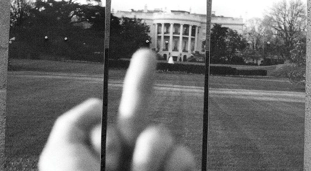 Ai Weiwei, Study of Perspective - F*ck! the White House (with COA hand signed by Ai Weiwei), 2017