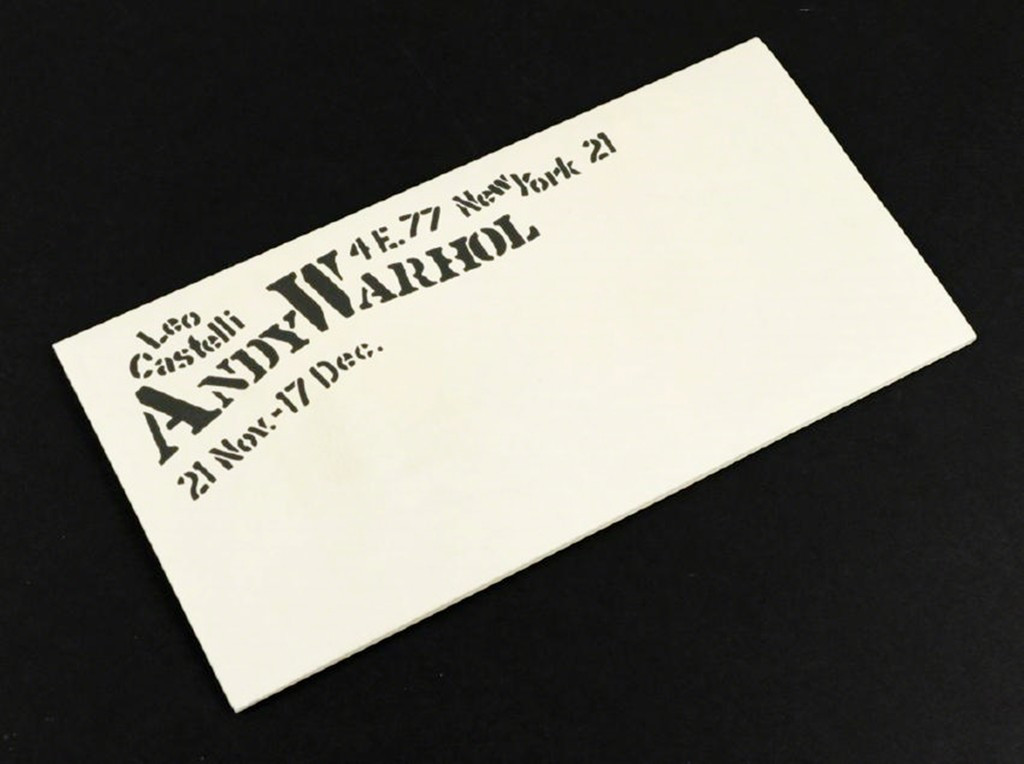 ANDY WARHOL,  Flowers, Original Leo Castelli Gallery Limited Edition Mailer (Feldman & Schellmann II.6 ) 1964, Lithograph in Colors (folded)