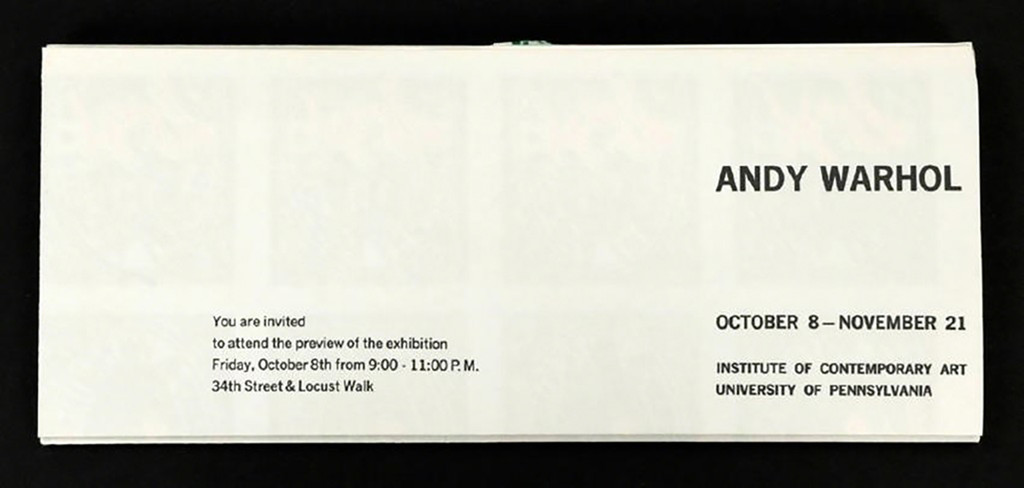 ANDY WARHOL, S&H Green Stamps (Feldman & Schellman, 11.9) 1965, Offset Lithograph in Colors (folded)