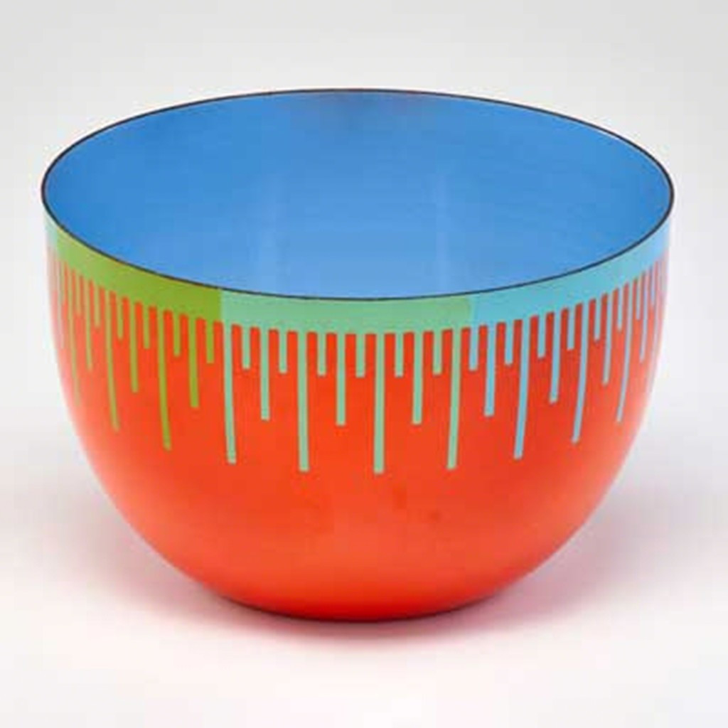 Richard Anuszkiewicz, Limited Edition Op Art Bowl for Hirshhorn Museum, 1976