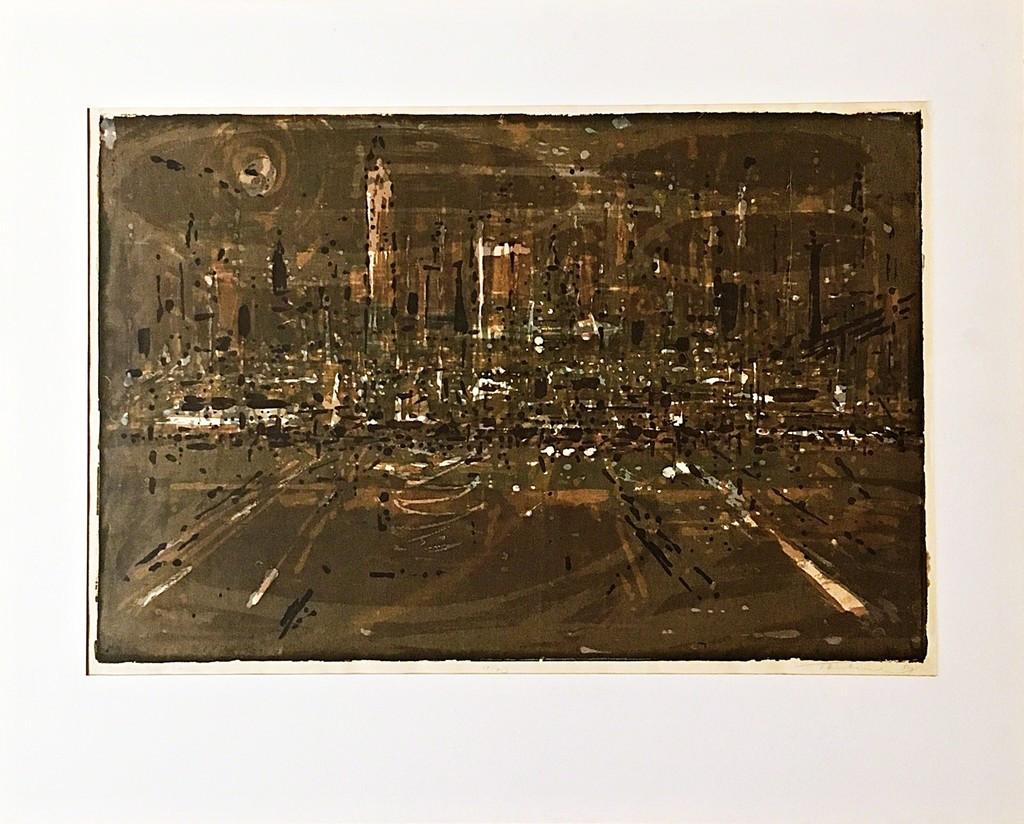 Wayne Thiebaud, Manhattan, 1957