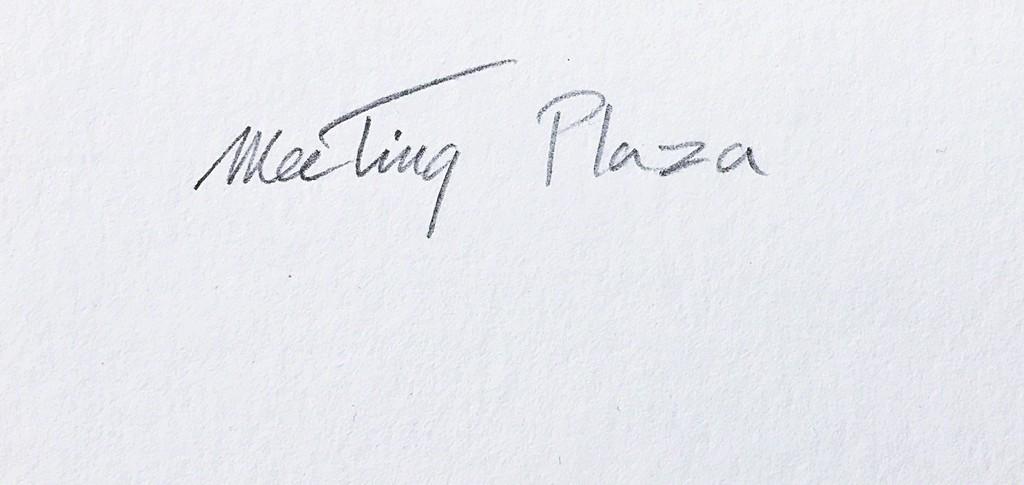 Thelma Appel,  Meeting Plaza, 2018