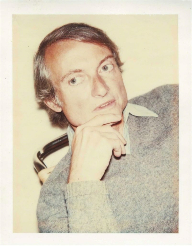 Andy Warhol Roy Lichtenstein (Authenticated) ca. 1975, Polaroid dye diffusion print (Authenticated and stamped by the Estate of Andy Warhol/Warhol Foundation for the Visual Arts). Framed