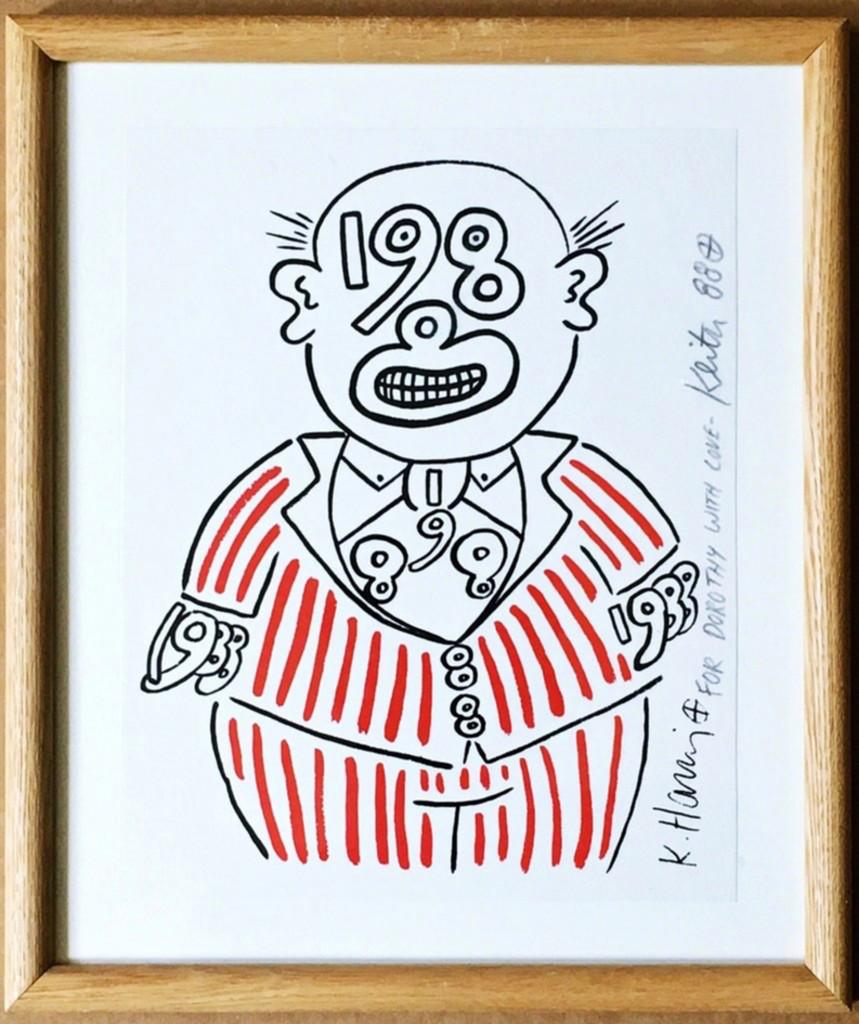 Keith Haring, 1988 Man, 1988