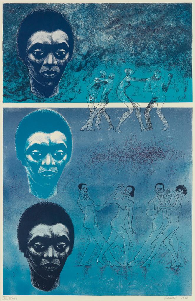 Elizabeth Catlett, Blues, 1983