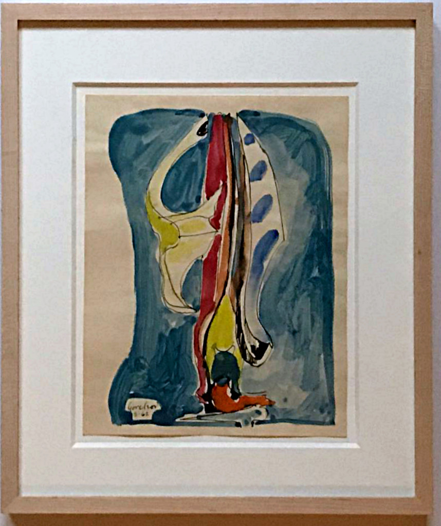 Ron Gorchov, Untitled, 1962 Ink and watercolor painting on paper