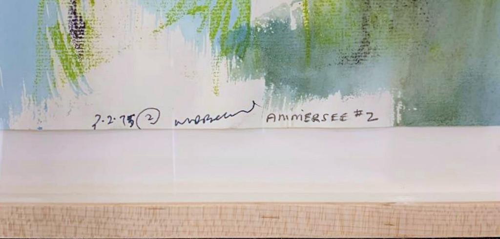 Walter Darby Bannard, Ammersee #2, 1975