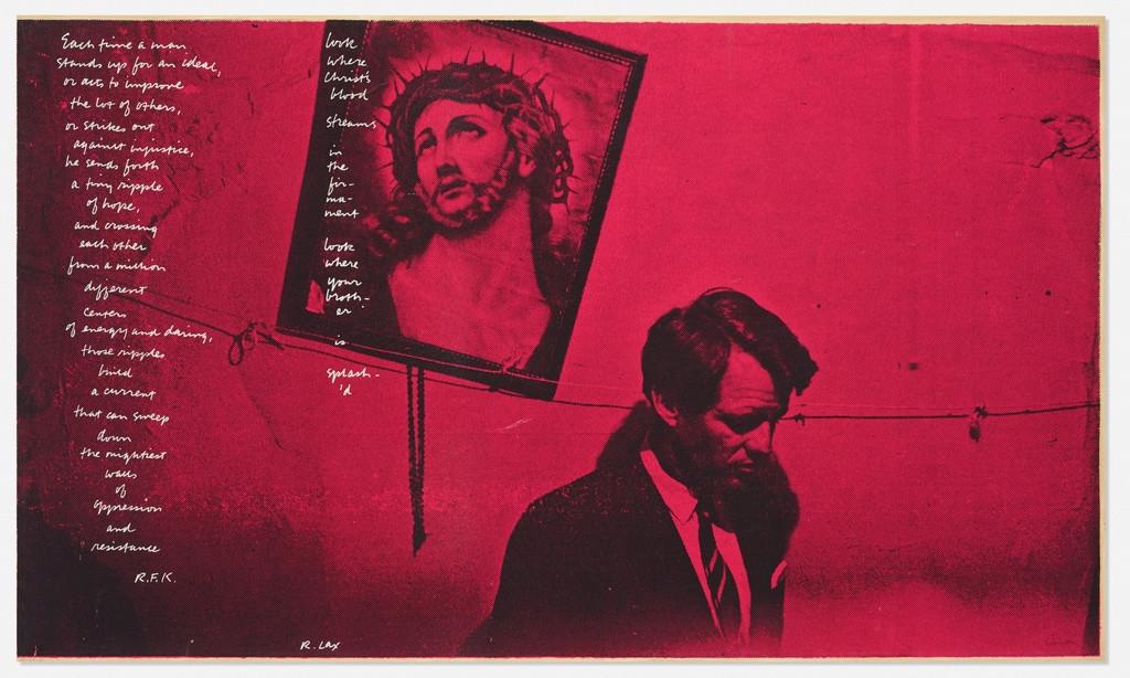 Sister Corita (Corita Kent), In Memory of Robert F. Kennedy, 1968