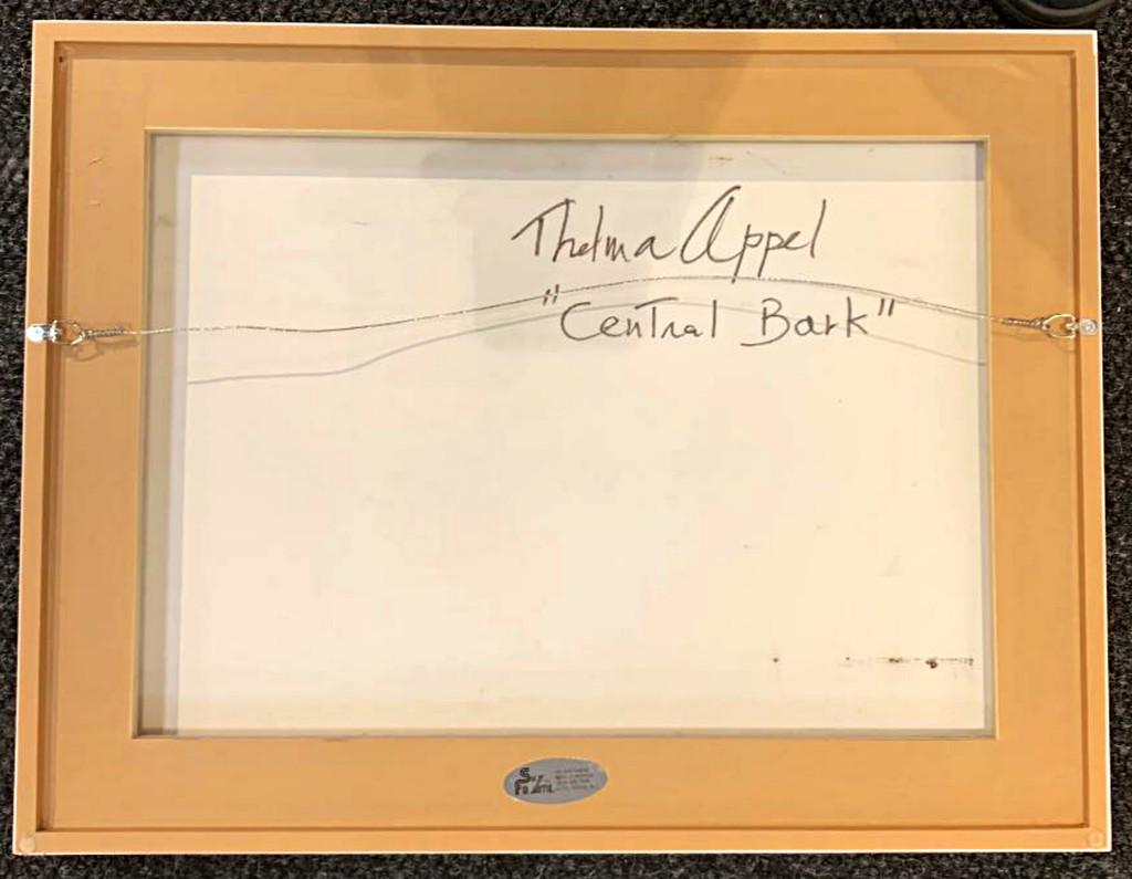 Thelma Appel, Central Bark