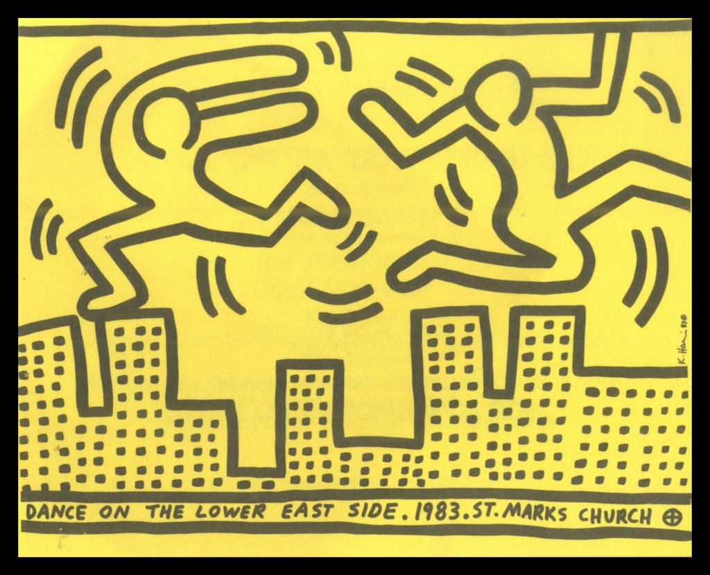 Keith Haring, Dance on the Lower East Side, 1983