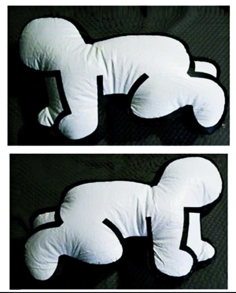 Keith Haring, Inflatable Baby (in original Pop Shop Box), 1985
