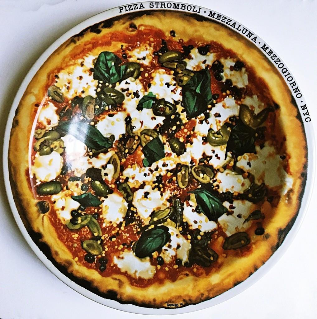 Ralph Goings Pizza Stromboli Mezzalluna - Mezzogiorno - New York, NY, ca. 2000