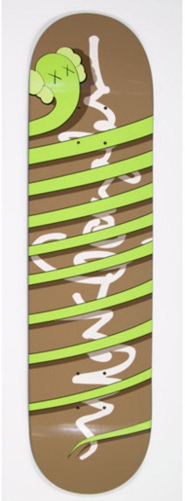 KAWS, Green Snake , 2005