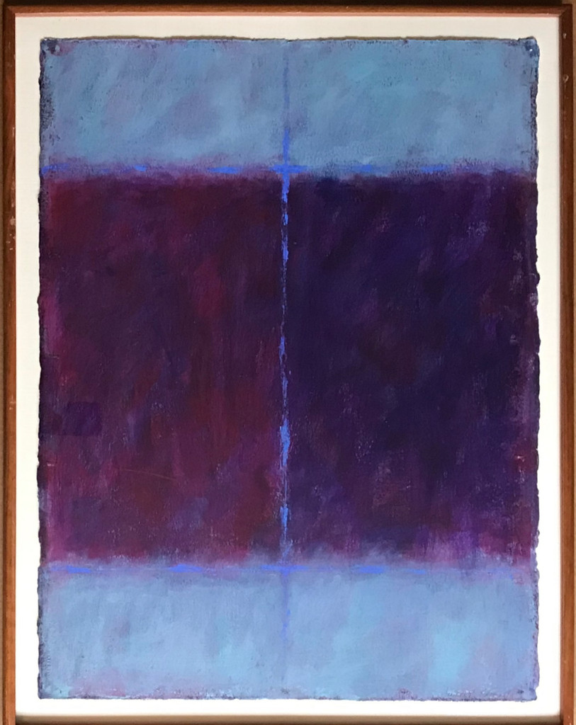 John P. Edwards, Untitled abstract painting, ca. 1978