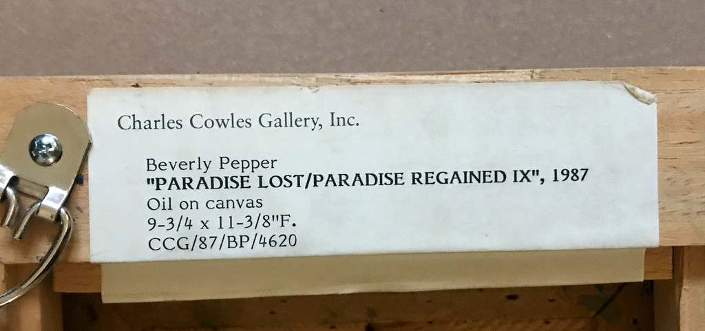 Beverly Pepper, Paradise Lost/Paradise Regained IX, 1987