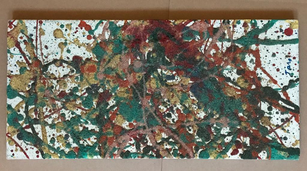 Taro Yamamoto, Abstract Expressionist painting, ca. 1964