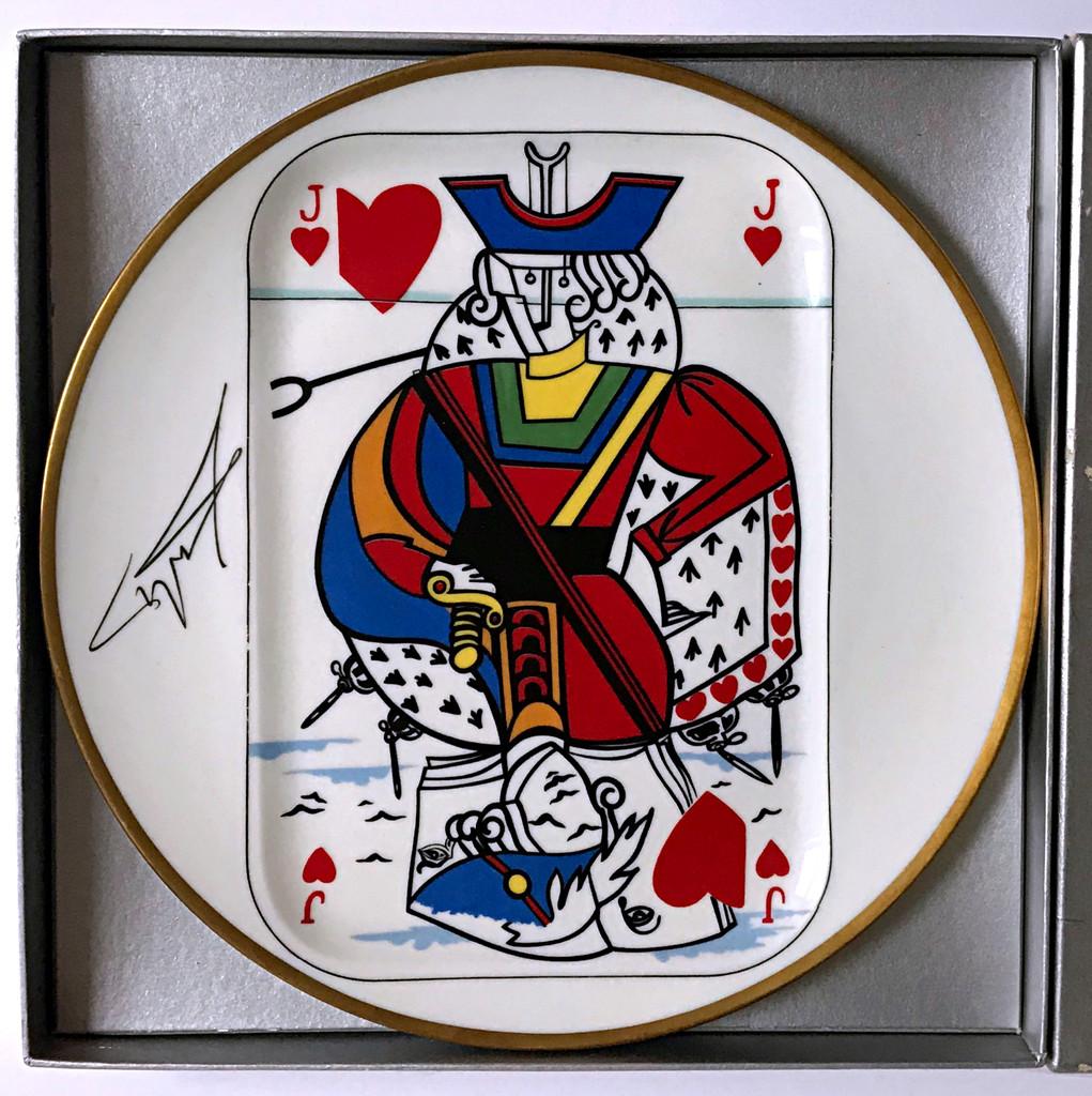 Salvador Dali, Jack of Hearts , 1967
