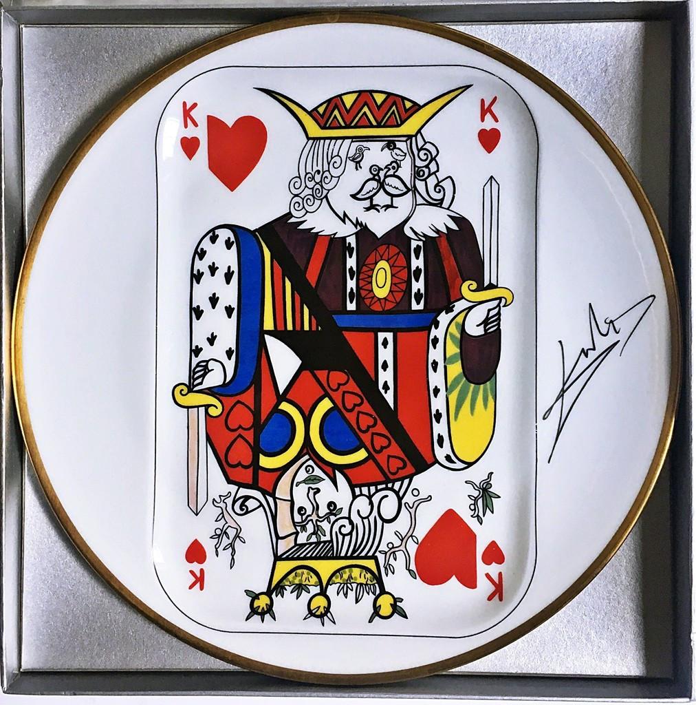 Salvador Dali, King of Hearts , 1967