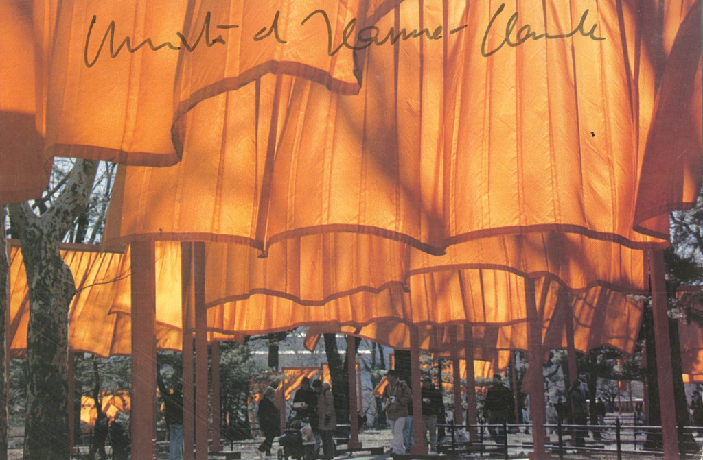 Christo and Jeanne-Claude, The Gates (Hand Signed) from the collection of Jeanne-Claude's former assistant, 2005