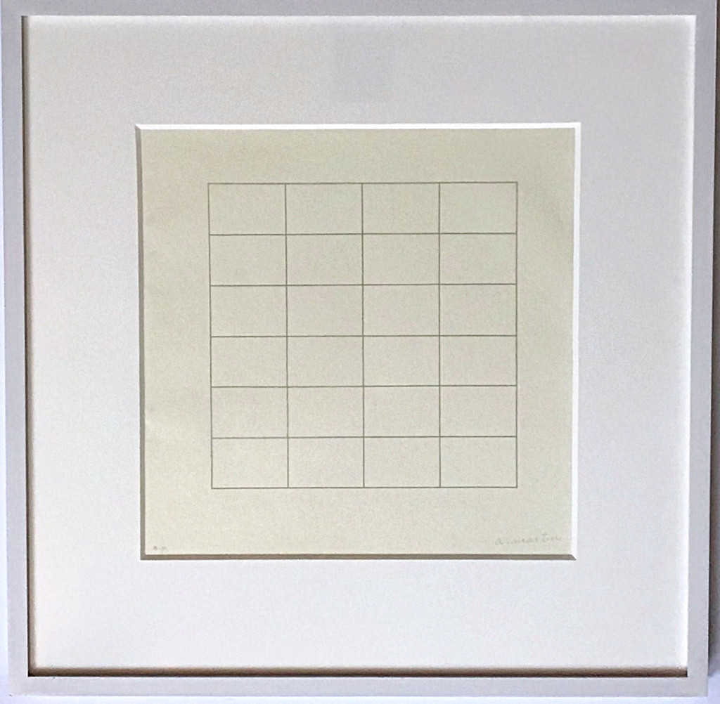 Agnes Martin, On a Clear Day #18 , 1973
