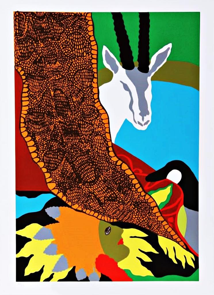 Hunt Slonem, Anaconda II, 1980