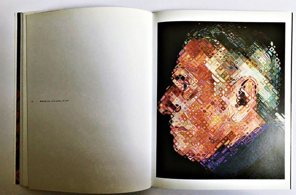 Chuck Close Recent Works (Hand Signed), 2002