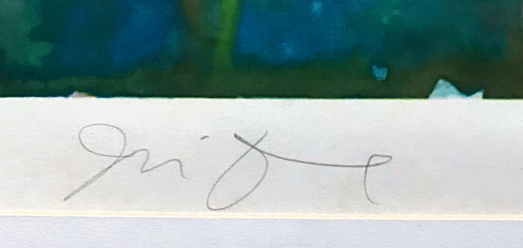 Jim Dine, Imogen III, from Complete Graphics, 1972
