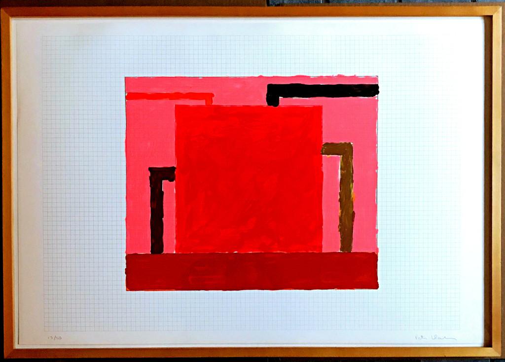 Peter Halley, Core, 1991