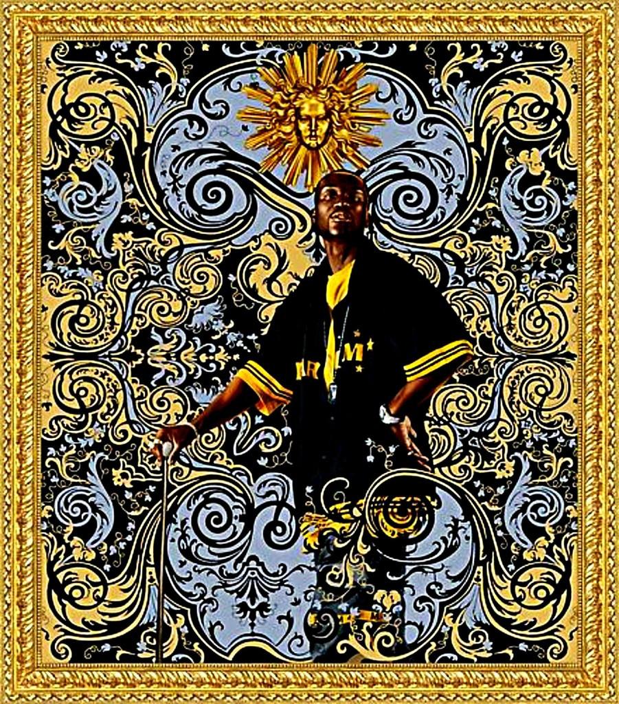 """Kehinde Wiley, """"Andries Stilte"""", ca. 2008"""