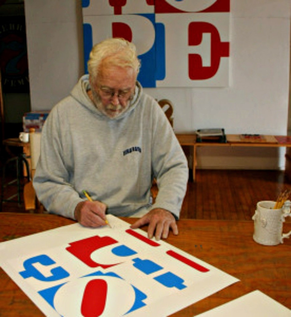 Robert Indiana, HOPE (from Artists for Obama), 2008 Unique Printers Proof