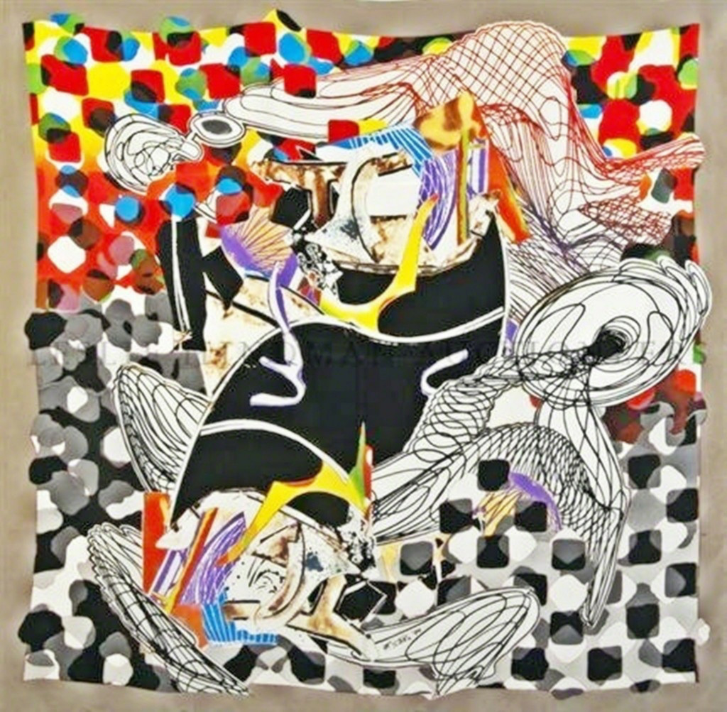 Frank Stella, The Whale Watch, 1994