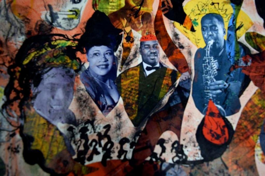 Romare Bearden, African Royalty, ca. 1964