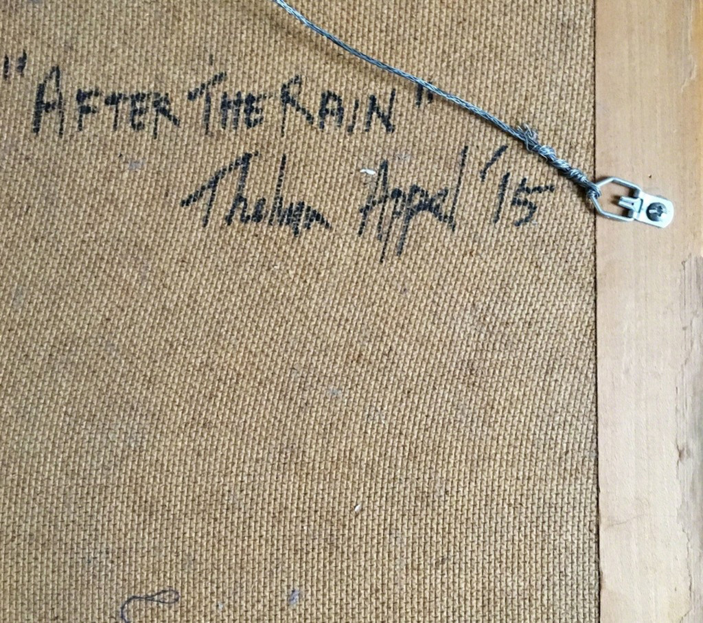 Thelma Appel, After the Rain, 2015