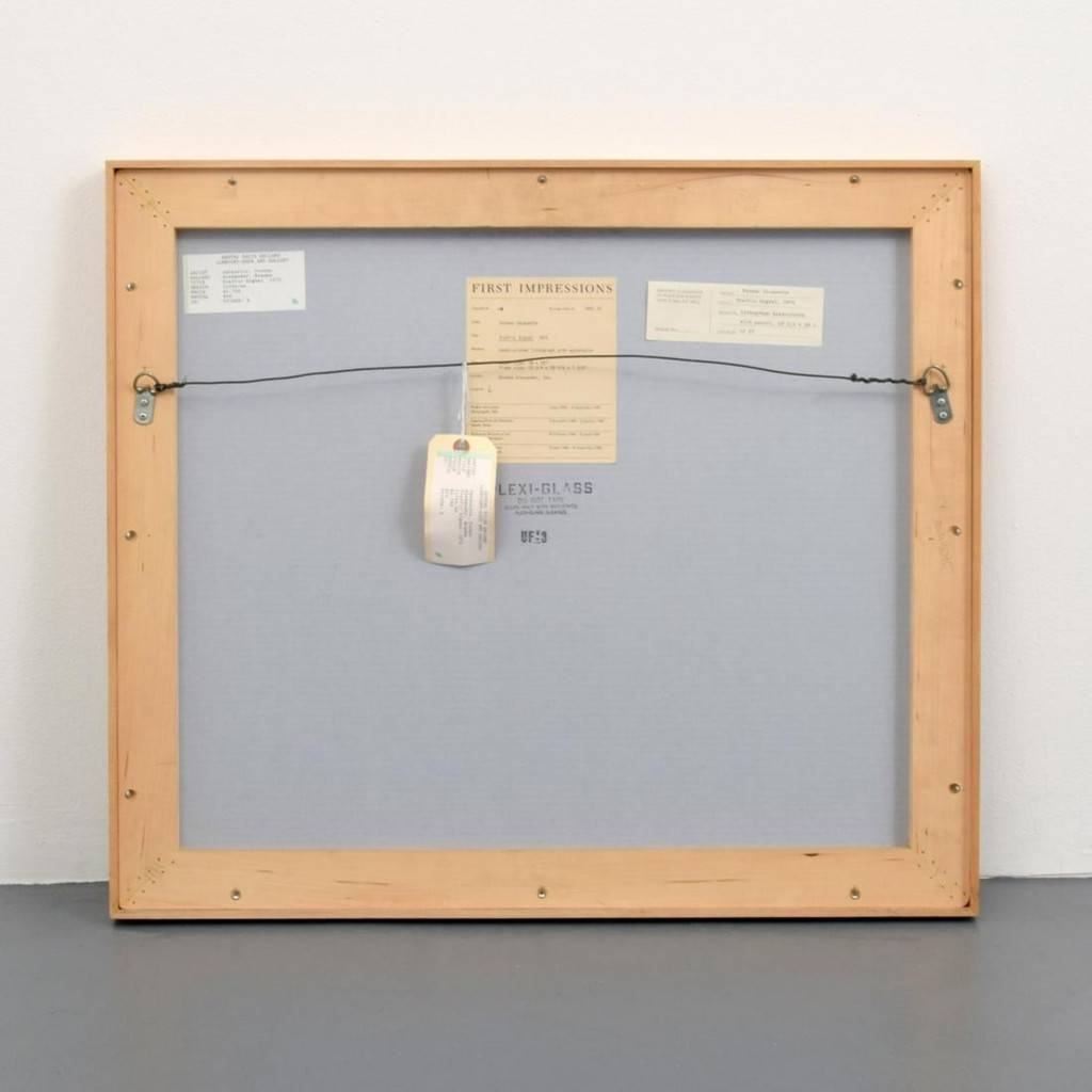 Yvonne Jacquette, Traffic Signal, 1973