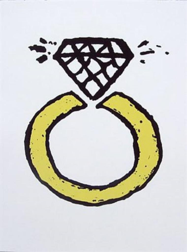 Donald Baechler, The Lucky Ring, 2008