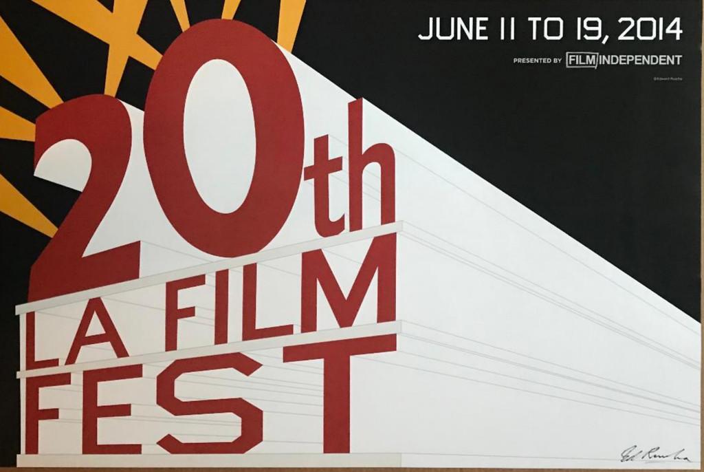Ed Ruscha, 20th LA Film Fest, 2014