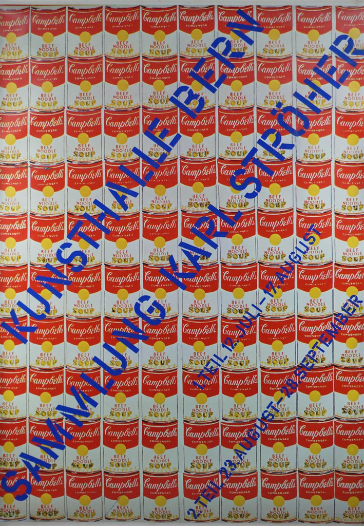 Andy Warhol, Kunsthalle Bern, 1969 (Hand Signed and Dated)