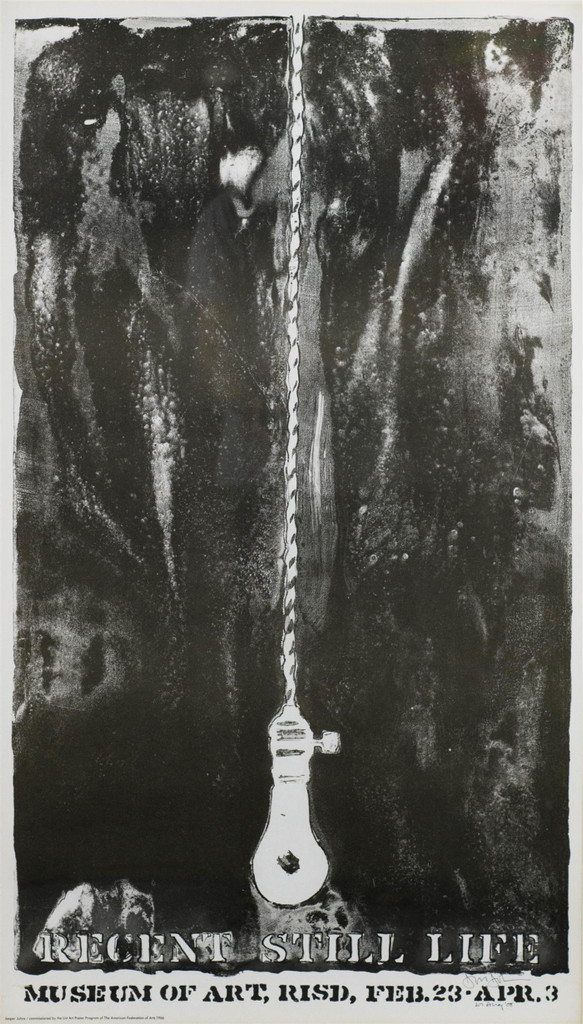 Jasper Johns, Recent Still Life (Hand signed and dated), 1966