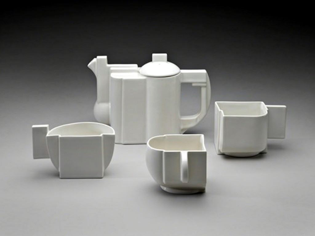 Kazimir Malevich, Suprematist Tea Service (Limited Edition with signed COA), 1918-1988, Alpha 137 Gallery, New York, NY, USA. russian avant-garde