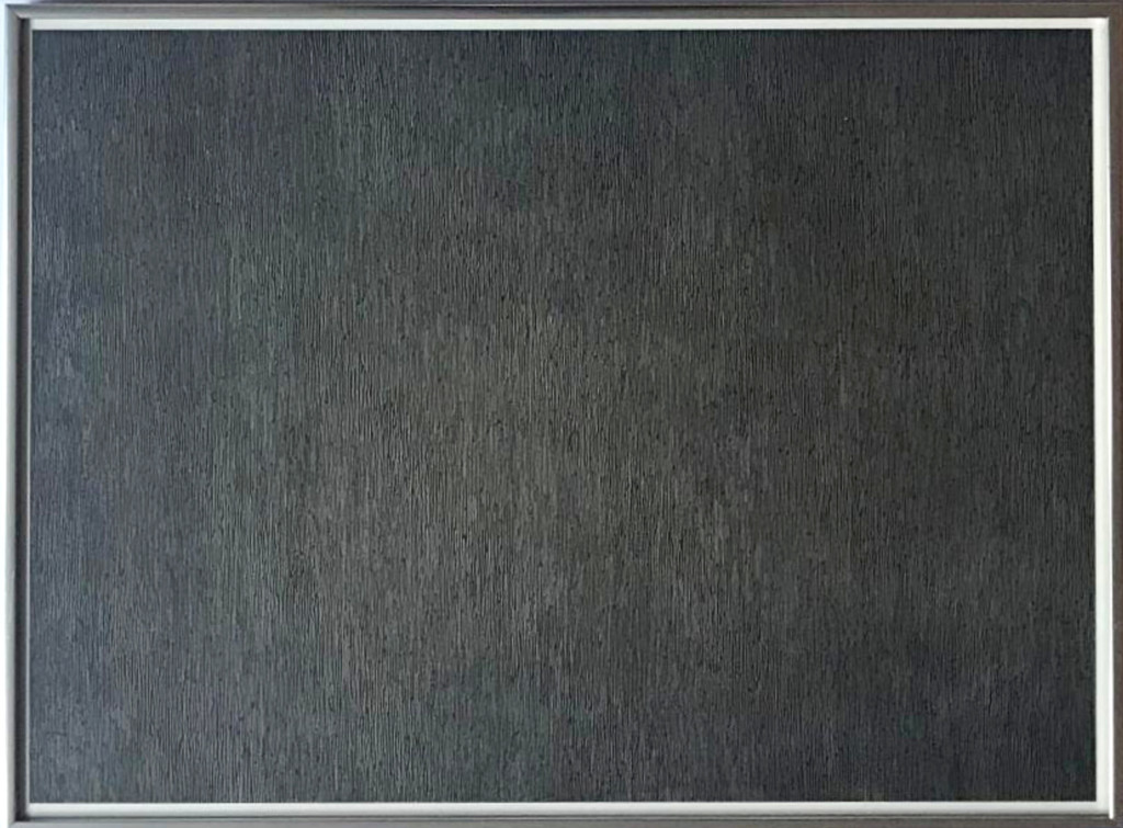 Sol Lewitt, Black with White Lines, Vertical, Not Touching, from Conspiracy: The Artist as Witness (Krakow 1970.07; 3. Kornfeld),