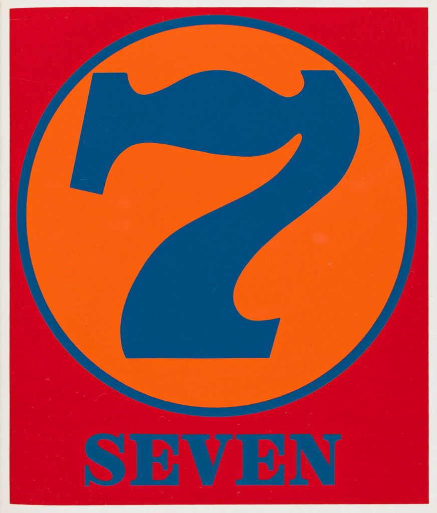 Robert Indiana, Numbers: Limited Edition Portfolio of 10 Color Silkscreens. Hand Signed, Dated and Inscribed (Sheehan 46-55), 1968