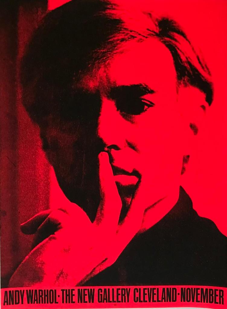 Andy Warhol, historic limited edition silkscreen, 1971