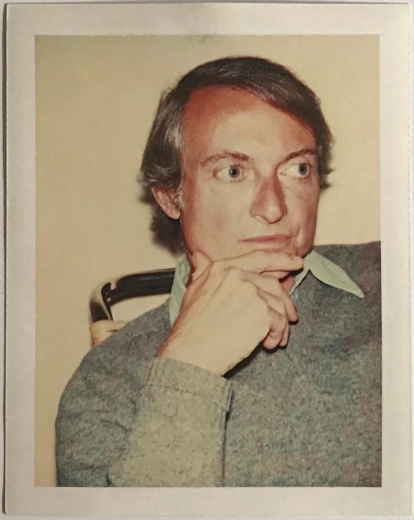 Andy Warhol, Polaroid Photograph of Roy Lichtenstein (Authenticated)