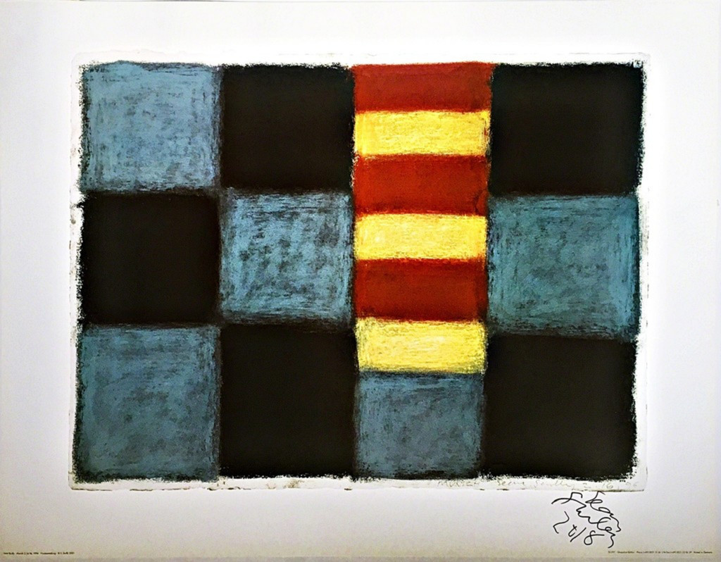 Sean Scully Munich 1996 (Hand Signed), 2001