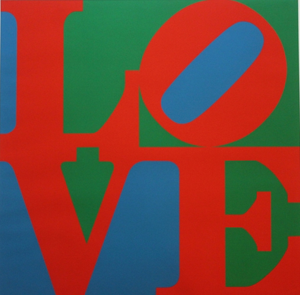 Robert Indiana, LOVE (the Original), 1967