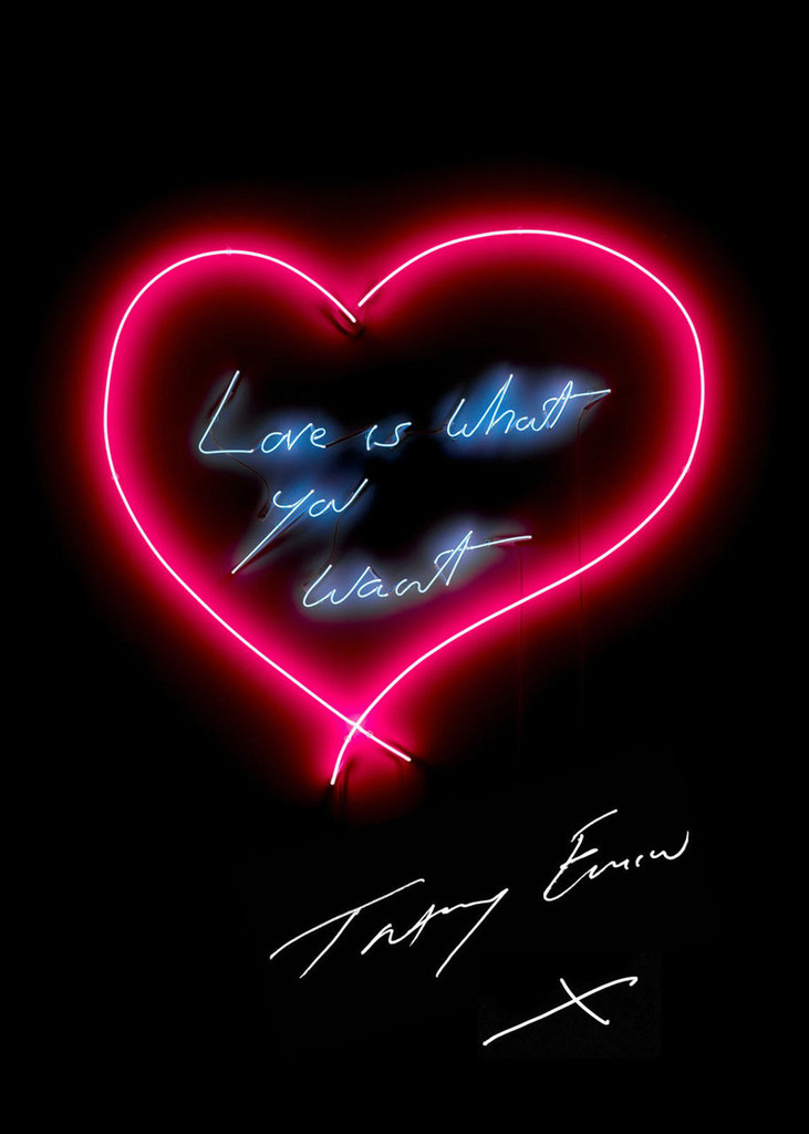 """Tracey Emin, """"Love is What You Want"""", 2015"""