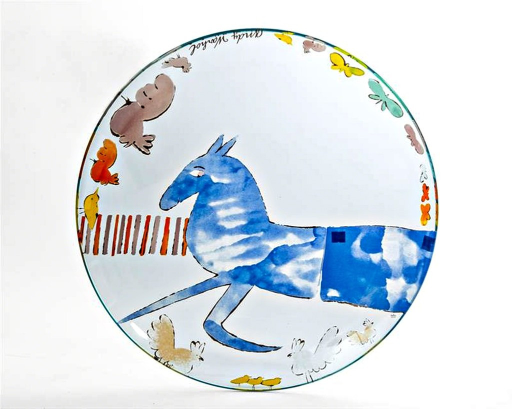 Andy Warhol, VINTAGE ROSENTHAL CHARGER PLATE
