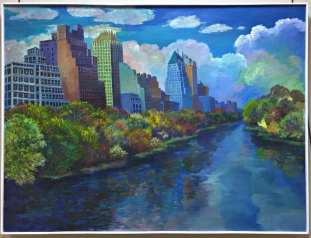 Thelma Appel, River Park / Waterway, 2015