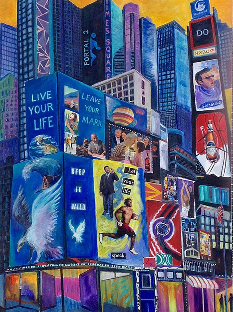 Thelma Appel, Times Square  (Keep It Wild), 2015