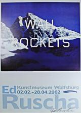 Ed Ruscha, Wall Rockets,  2002